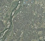 Nagaoka city center area Aerial photograph.2011.jpg