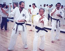 Nam Suk Lee trains with Jon Wiedenman and George V. Fullerton in the summer of 1998.