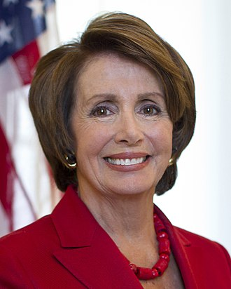 Party leaders of the United States House of Representatives - Minority Leader Nancy Pelosi (D)