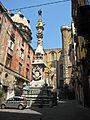 Napoli - Piazza Riario Sforza - Guglia di San Gennaro.jpg