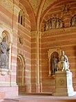 Narthex statue Rudolf von Habsburg Speyer Cathedral.JPG