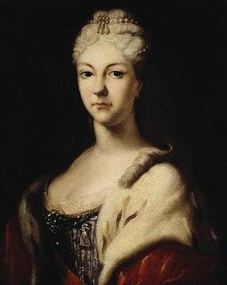 Grand Duchess Natalya Alexeyevna of Russia (1714–1728) Russian grand duchess