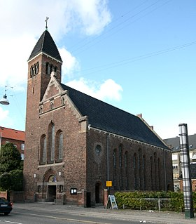 Church in Copenhagen, Denmark