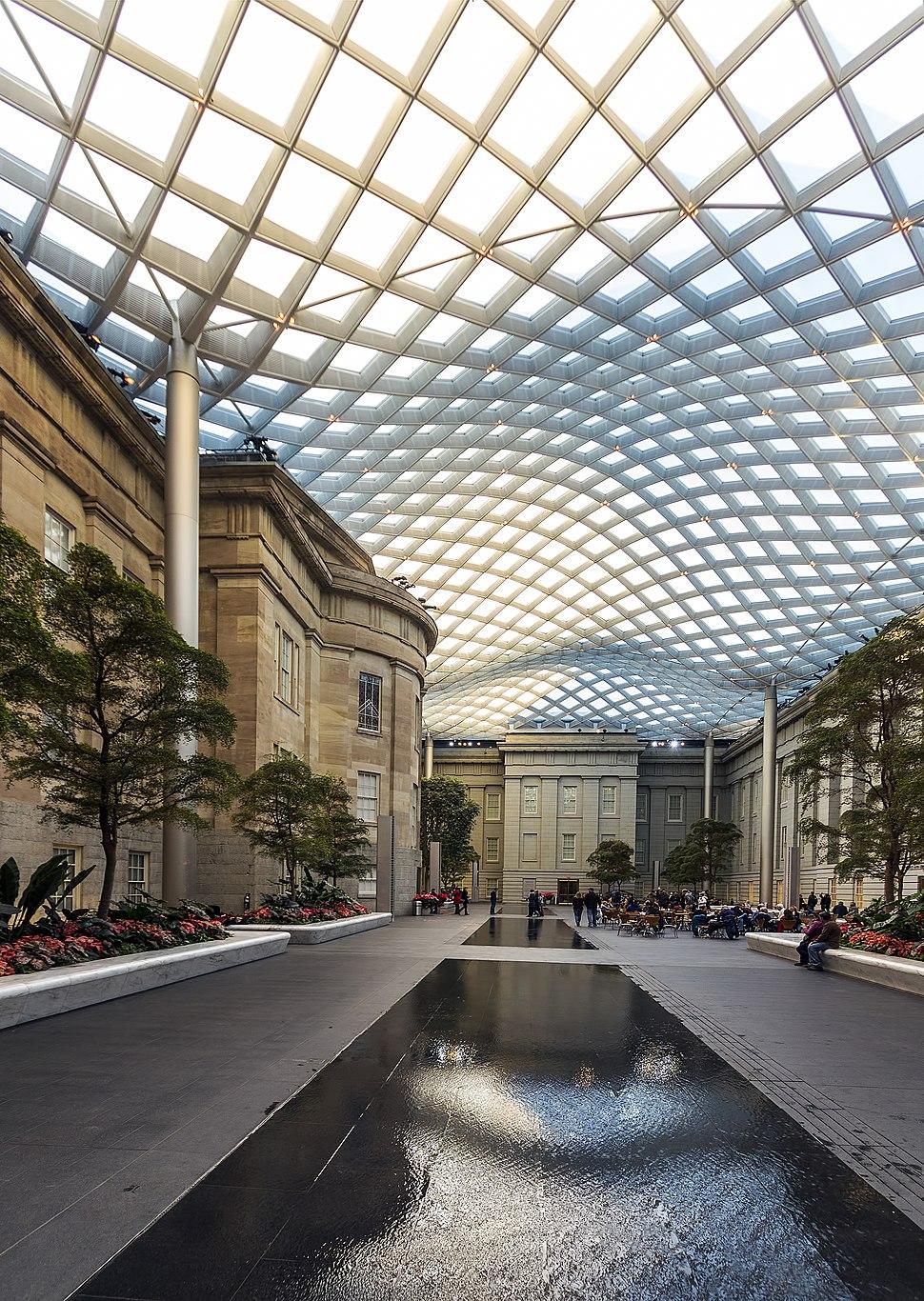 National Portrait Gallery courtyard DC1