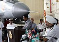 Navy Day 2015 press conference on Board INS Vikramaditya.jpg