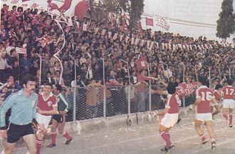GSZ Stadium (1928) - Image: Nea Salamina Champions Seconddivision