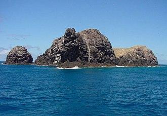Necker Island (Hawaii) - Image: Necker Island 440 FWS