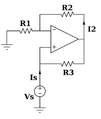 Negative impedance converter.png
