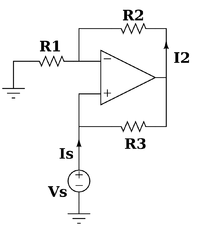 negative impedance converter