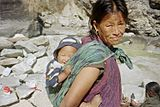 160px-Nepalese-woman-with-baby.JPG
