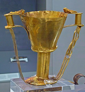 legendary cup mentioned in the Iliad, or artifact claimed to be this cup