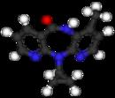 Ball-and-stick model of nevirapine