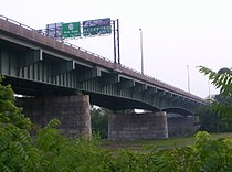New Hope-Lambertville Toll Bridge with signs.jpg