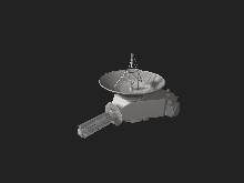 Interactive 3D model of New Horizons