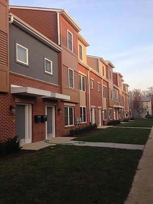 Queen Lane Apartments - New Townhouses at Queen Lane.