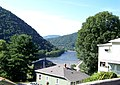 New River from Temple Street in Hinton, West Virginia - panoramio.jpg
