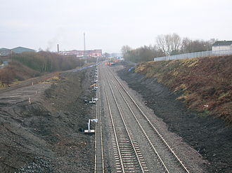 Kilmarnock railway station - New coal sidings