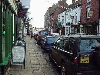 Telford and Wrekin - St Mary's Street in Newport