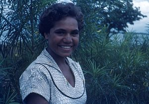 Jedda - Rosalie Kunoth-Monks, who played the title role)