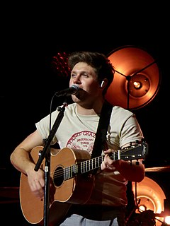 Niall Horan Irish singer and songwriter
