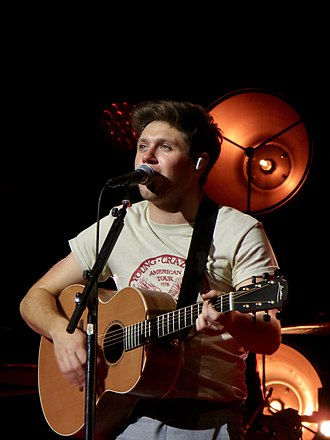Niall Horan - Horan performing in Glasgow during the Flicker World Tour in 2018