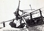 Nieuport 23 showing offset Vickers MG and late type Lewis mounting.jpg