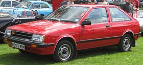 Nissan Cherry per UK nomenclature first registered sep 1984 1270cc.JPG