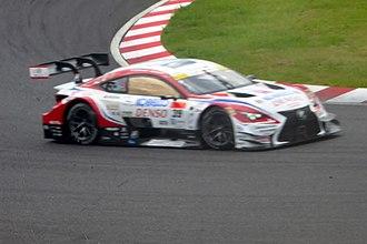 2016 Super GT Series - Image: No.39 DENSO KOBELCO SARD RC F at 2016 International Suzuka 1000km (8)