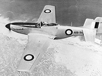 No. 78 Wing RAAF - Image: No. 78 Wing RAAF Mustang 1948 (AWM P01254.024)