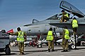 No 75 Sqn RAAF ground crew and FA-18 Hornet fighters during Red Flag 12-13.JPG