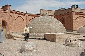 Nobar bath - Outer view of the Nobar bath in Tabriz.