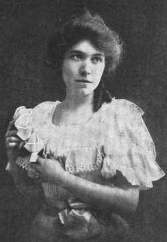 Nora Dunblane - Nora Dunblane, from a 1901 publication.