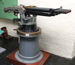 1-inch Nordenfelt gun - Four-barrel version