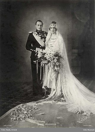 Wedding of Crown Prince Olav of Norway and Märtha of Sweden