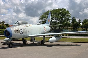 LTV A-7P Corsair II - Portuguese F-86F Sabre which was replaced by the A-7 Corsair II in the air defense role