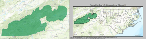 North Carolina US Congressional District 11 (since 2017).tif