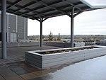 Northwest across the Utah Valley Convention Center terrace, Jan 16.jpg