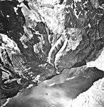Northwestern Glacier, terminus of tidewater glacier, and hanging glacier, August 22, 1968 (GLACIERS 6697).jpg