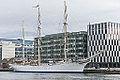 Norwegian Tall Ship, S-S Statsraad Lehmkuhl - Dublin Docklands 02.jpg