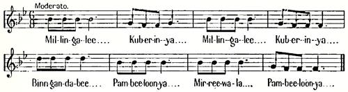 Notes on the Aborigines of New South Wales - Song 6.png