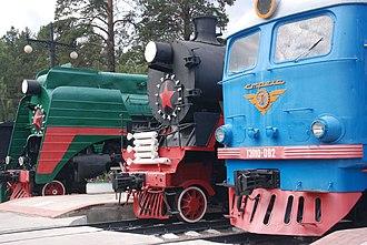 Sovetsky City District, Novosibirsk - Novosibirsk Railway Museum