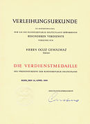 Order of Merit of the Federal Republic of Germany - Wikipedia