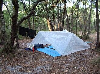 Outward Bound Australia - Outward Bound Camp Bivouac in D'Entrecasteaux National Park