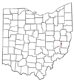 Location of Fairview, Ohio