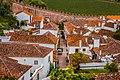 Obidos village rooftops aerial view (50169556213).jpg