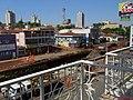 Obras anti enchente no Córrego Sul, na avenida Antônio Paschoal, em Sertãozinho. Na época as obras avançavam em frente ao Supermercado Savegnago, quase chegando ao Terminal Rodoviário. - panoramio (1).jpg