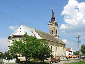 Obrovac, Serbia - Image: Obrovac, Catholic Church
