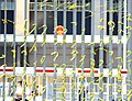 Occupy Yellow Ribbon on the fence of Hong Kong government building, Admiralty, Hong Kong - panoramio.jpg