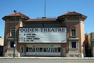 Ogden Theatre - Image: Ogden Theatre Denver