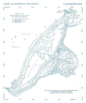 Lyubomir Ivanov (explorer) - Image: Ohridski Map
